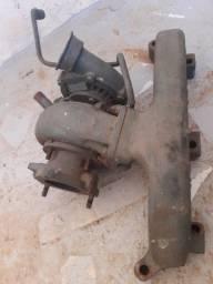 Turbina é tubagem do motor 364 4cc mercedes