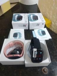 Smartwatch P8 Coloca Foto na tela