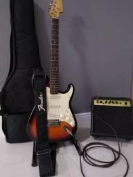 Guitarra Stratocaster sunburst