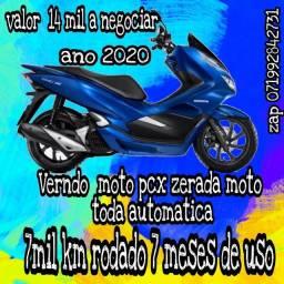 Vendo moto pcx 2020 zera