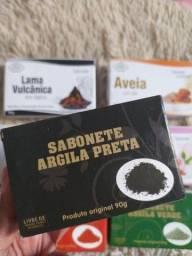 Sabonetes de Argila