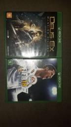 2 jogos de Xbox one originais