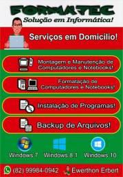 Serviços Presenciais e Online (Formatação)