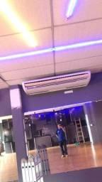 Serviço de instalação, higienização e manutenção de ar condicionado