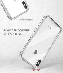 Capa Capinha Iphone Anti Shock Transparente  Todos os Modelos