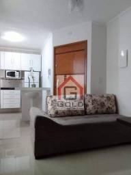 Apartamento com 2 dormitórios para alugar, 38 m² por R$ 2.000,00/mês - Campestre - Santo A