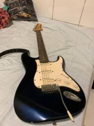 Guitarra memphis stratocaster azul marinho