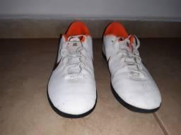 Chuteira Nike Mercurial X Branca Usada