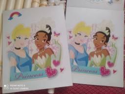 Estante e prateleira princesas (usados)