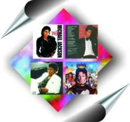 Kit com 7 cds de músicas do 3 Jackson Five e 4 Michael Jackson