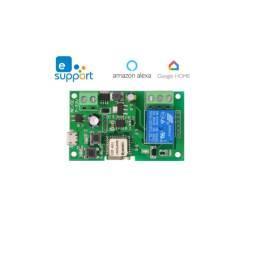 Sonoff Wifi Módulo Relé Dc5v-12v-32v Função Pulso E Travado Alexa e google home