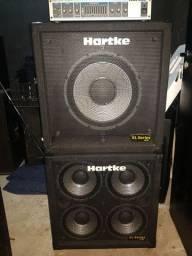 Conjunto Amplificadores de baixo hartke