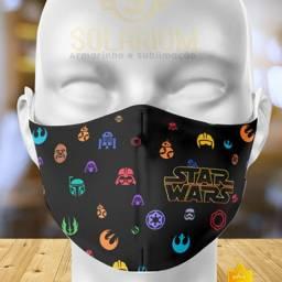 Máscara StarWars Estampa Personalizada (Novidade!)