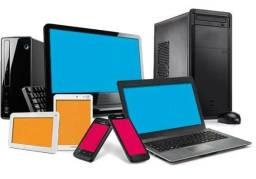Manutenção e atualização e limpeza de Celulares e Notebooks