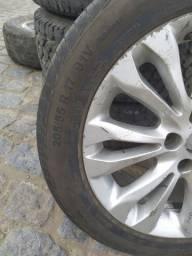 Roda com pneu seminovo 17