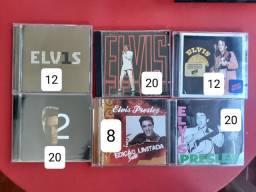 CDS Elvis Presley - muitos importados