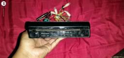 Rádio da pianeer dvd valor 250 reais