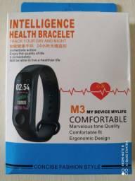Relógio Smartwatch medidor pressão batimento cardíaco etc.