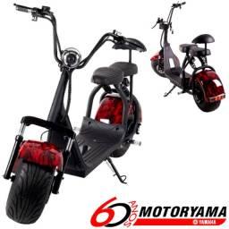 Scooter moto eletrica harley x3 happy vermelha a pronta entrega!