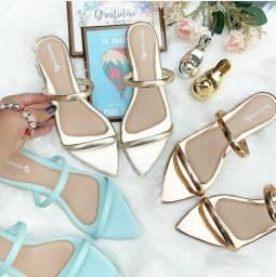 Sandálias femininas de alta qualidade