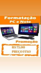 Formatação computadores notebook e desktop