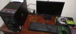 Computador pronto pra usar.