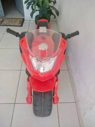 Moto Elétrica Infantil Super Racing 2 Marchas - Bandeirante