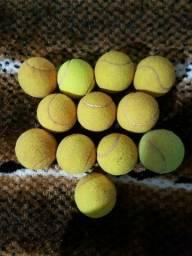 Bolinhas de tênis usadas