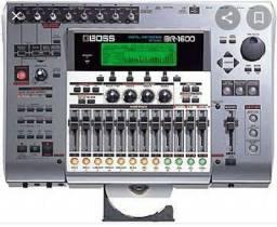 MESA DE SOM GRAVADORA BOSS Roland 1600