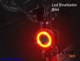 Título do anúncio: Led Sinalizador para Bike Bicicleta Vermelho