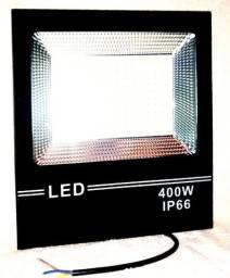 ilumine seus ambientes, refletor LED 400w branco frio ou branco quente