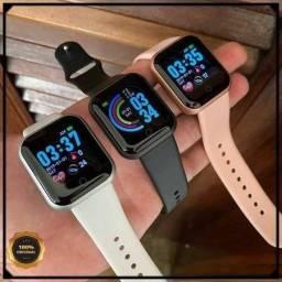 Relógio Inteligente Smartwatch D20 Y68 Batimento Cardíaco Promoção Barato