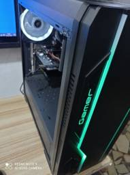 PC gamer AMD A8-3870 3Ghz 4MB 8GB<br> SSD120GB  HD500GB<br>GTX 1050 2GBGabinete gamer RGB
