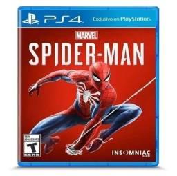 Jogo PS4 Spiden-Man Midia Física Usado