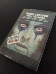 Fita cassete k7 Alice Cooper