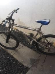 Bicicleta de inox aro 48