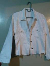 Jaqueta Branca Marca: O Alcaçuzz Tam: M