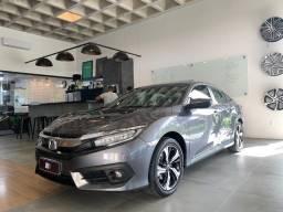 Honda Civic Touring Cinza 2017