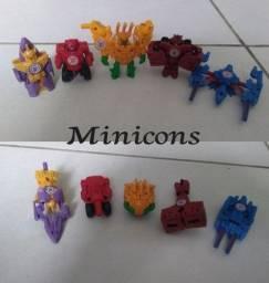 Bonecos Transformers pequenos