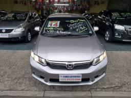Honda Civic Lxr Automática Flex 2014, Único Dono, Com Mídia!