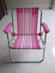 Cadeira de praia infantil - menina - marca Mor