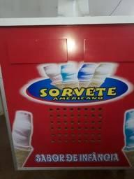 Máquina de sorvete americano yurk