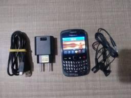Celular Blackberry Curve Completo Usado a Venda