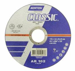 Disco de corte Norton 115mm x 1,0mm x 22,2