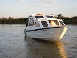 Lancha cabinada/barco cabinado Otto Alumínio - 2012