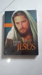 Livro ilustrado vida de Jesus