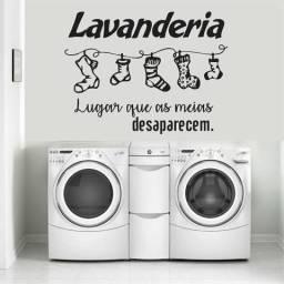 Lava-roupas na lavaderia