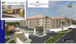 CONDOMÍNIO CORTINA DE D'AMPEZZO - Apartamento em Lançamentos no bairro Estrada d...