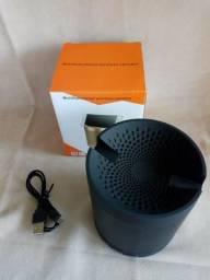 Caixa De Som Speaker Multifuncional Com Suporte P/ Celular