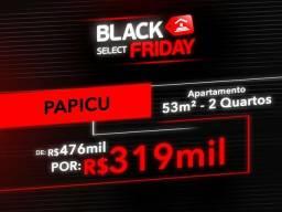 (JB) Black Friday | Apartamento no Papicu de R$ 476mil por R$ 319mil | 53m² | 2 Quartos